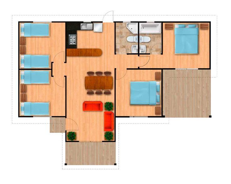 M s de 25 ideas incre bles sobre casas prefabricadas - Casas modulares economicas ...