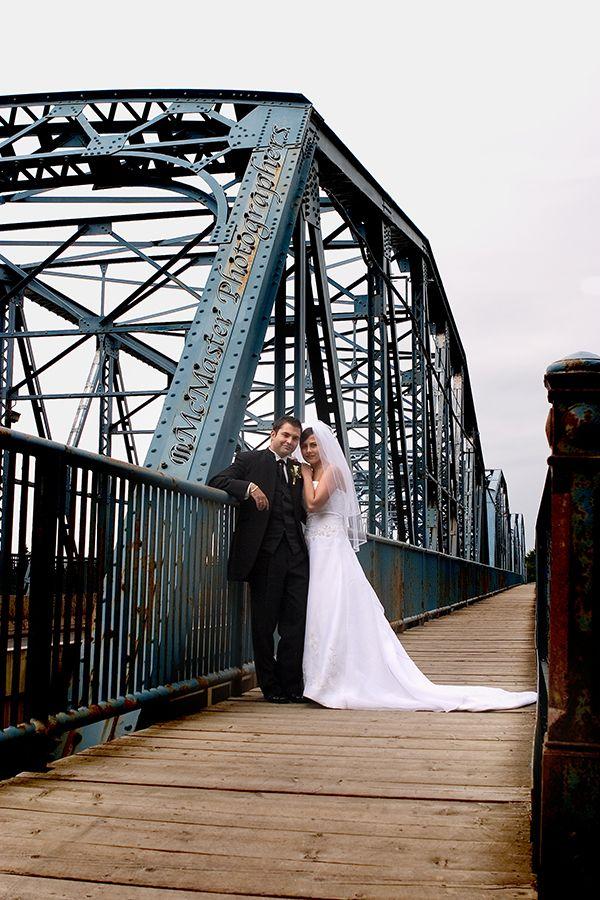 Bridges aren't just for driving thru... #yeg #yegwedding #edmontonphotography