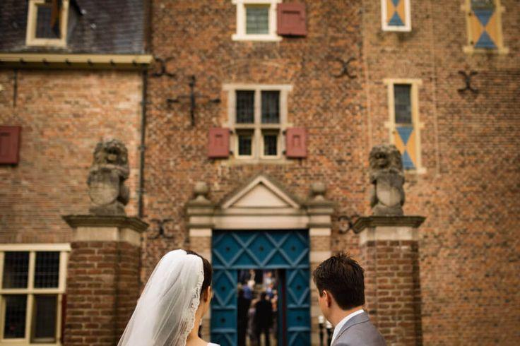 #Bruidsfotografie en #trouwen bij een #kasteel Trouwen Kasteel