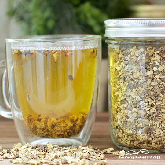 Licorice Root Tea - Licorice root is both an expectorant and demulcent, simultaneously soothing your airways while loosening and thinning mucous, easing congestion. It can also ease any inflammation that may be irritating your throat. - 7 Natural Cough Remedies for Persistent and Dry Coughs