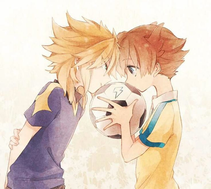 Taiyou and Tenma from Inazuma Eleven Go || Anime sport