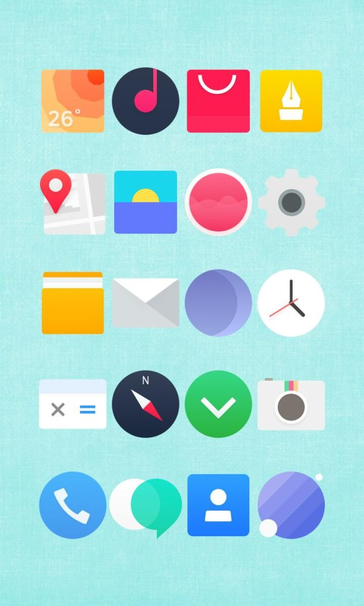 [Homepack Buzz] Check out this awesome homescreen! Lisa Bloom  3 pages of various icon packs not made by me...  just sharing
