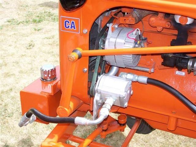Farmall Hydraulic Pump : Mccormick farmall m with added live hydraulic pump