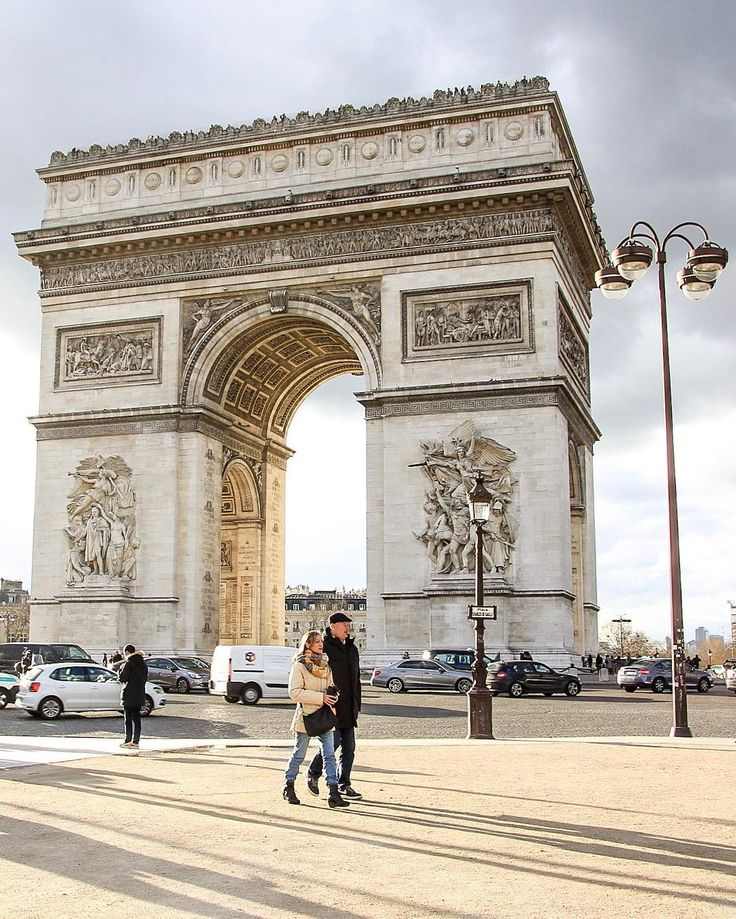 Arc de Triomphe. Been there. Loved it.