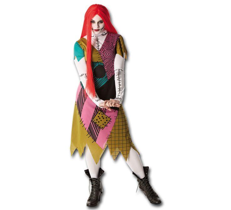 Disfraz de Sally Pesadilla antes de Navidad para mujer   Disfrazzes   Tienda de disfraces online
