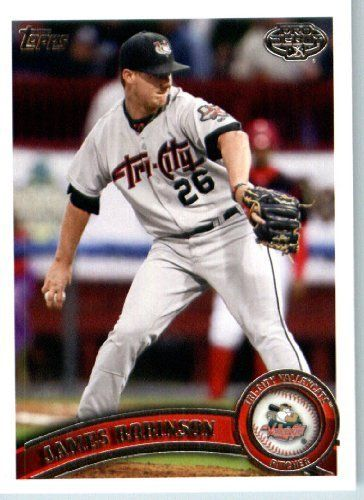 2011 Topps Pro Debut Baseball Card # 108 James Robinson - Tri -City ValleyCats - MiLB (Prospect - Rookie Card) MLB Trading Card by Topps. $1.87. 2011 Topps Pro Debut Baseball Card # 108 James Robinson - Tri -City ValleyCats - MiLB (Prospect - Rookie Card) MLB Trading Card