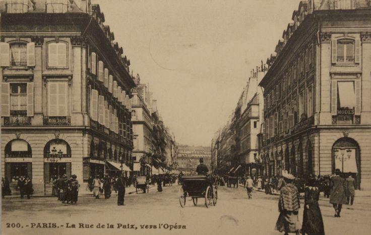 Rue de la Paix, Paris