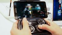 Samsung's Gamepad makes any Android phone a portable console for $90 (hands-on) Fed up with your stupid fingers getting in the way of your games? Samsung's new Bluetooth Gamepad gets your digits out of the way -- and works with any Android phone.