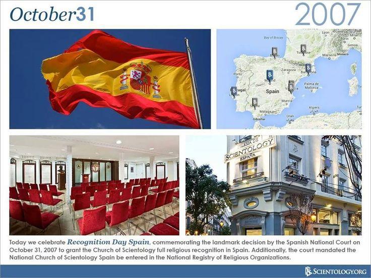 El pasado 31 de octubre hicieron 7 años de la sentencia de la Audiencia Nacional que reconoció a la Iglesia de Scientology de España y ordenó su inscripción en el Registro de Entidades Religiosas del Ministerio de Justicia.