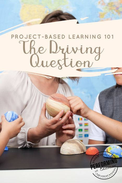 Driving Questions in Project-based Learning