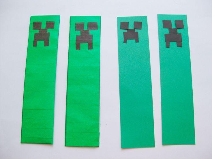 minecraft bookmark template - best 25 bookmark craft ideas on pinterest cool