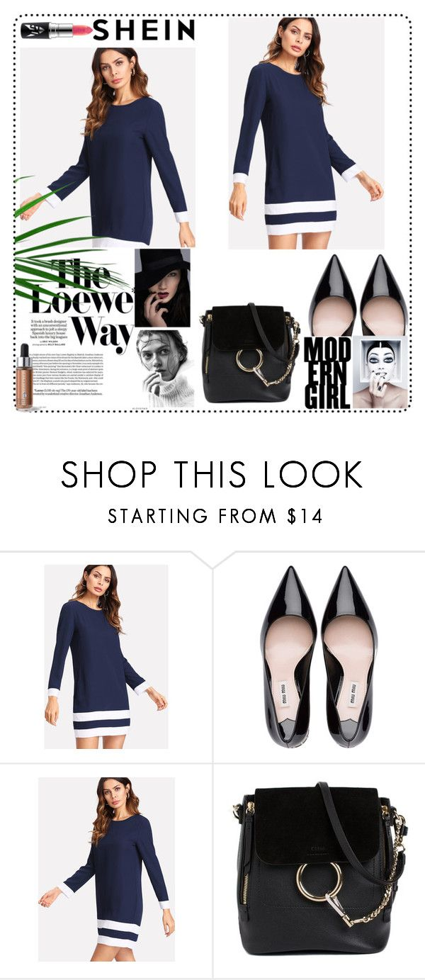 """""""SHEIN"""" by prettyalways ❤ liked on Polyvore featuring Chloé and Loewe"""