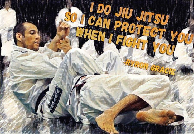 Ryron Gracie BJJ Jiujitsu quote mma ufc martial arts  Follow instagram @bjj_philosophy