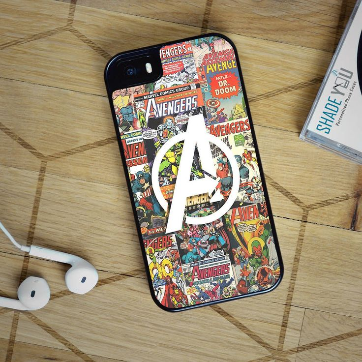 The Avengers Comic - iPhone 4/4S, iPhone 5/5S/5C, iPhone 6 Case, plus Samsung Galaxy S4/S5/S6 Edge Cases - Shadeyou Phone Cases