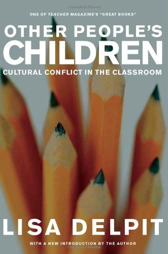Other People's Children: Cultural Conflict in the Classroom by Lisa Delpit http://smile.amazon.com/dp/1595580743/ref=cm_sw_r_pi_dp_xDQBwb0TF5K3V