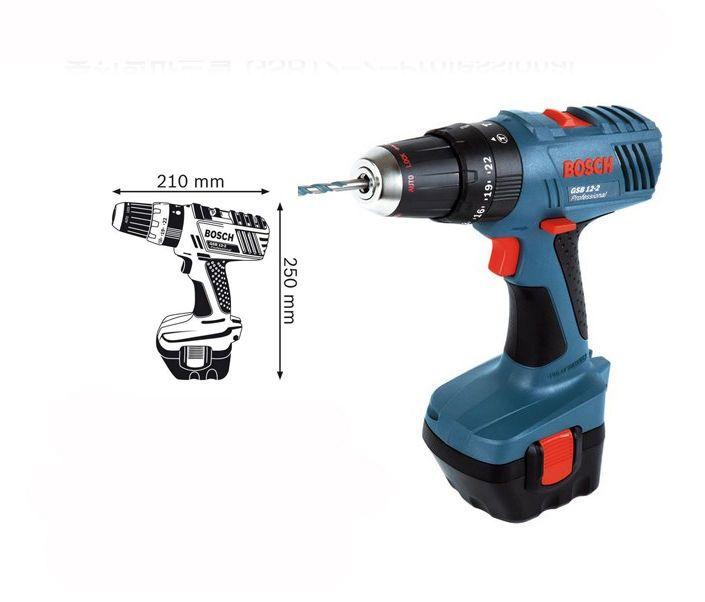 Bosch GSB 12-2 Professional 1.5Ah Cordless Impact Drill Driver #Bosch #gsb12-2 #cordless #drill #drive #powertool