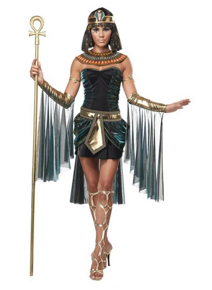 Ägyptische Göttin Kleopatra Pharao Damen Kostüm