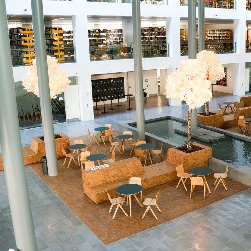 Public Interior | Green Furniture Concept