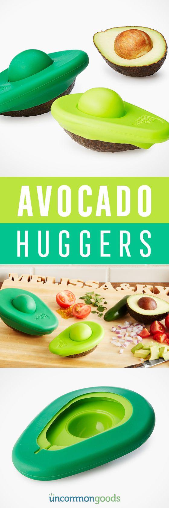 A little avocado goes a long way, keep the cut fruit fresh longer!