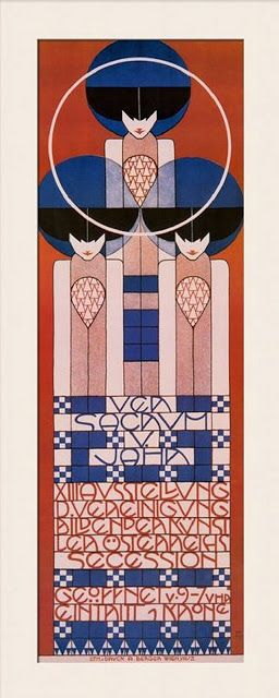 A History of Graphic Design: Chapter 27 - Gustav Klimt, and the Vienna Secession Movement