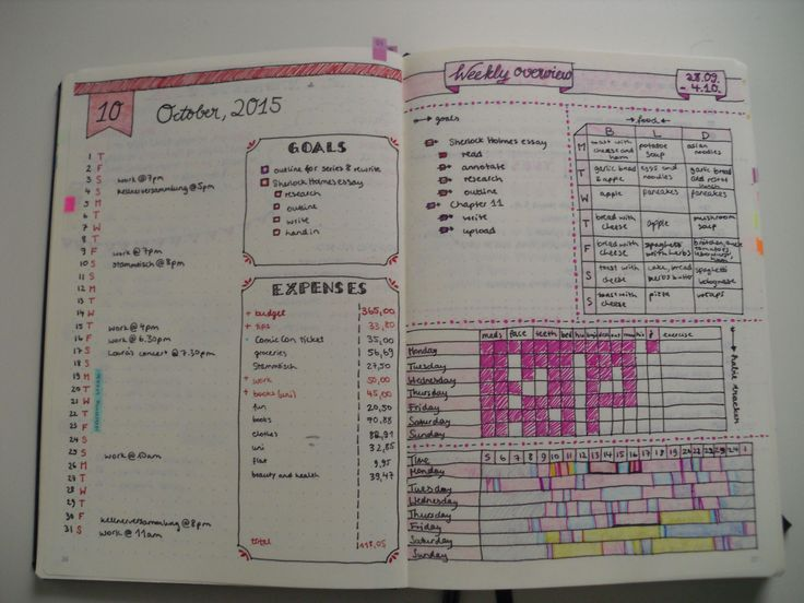 eileenisstudying: My Bullet Journal Set Up So... : the energy of the mind is the essence of life
