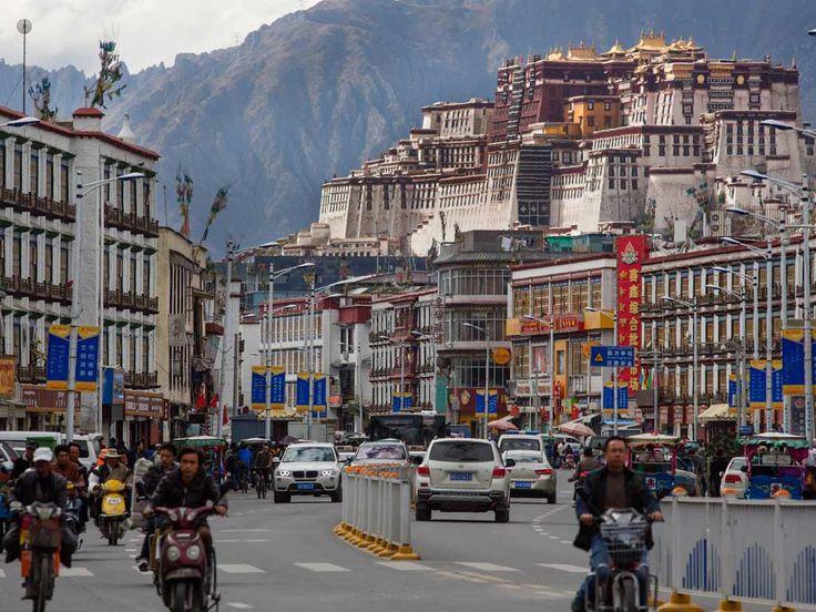 Lhassa, capitale du Tibet,