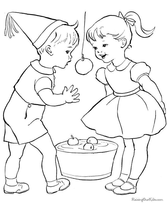 birthday - can you bob for apples at a bday party?!