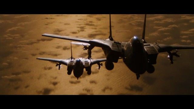 Top Gun's Conversion   and its   Miniature Plane and In-Camera Effects     Before sadly passing away in 2012,  Top Gun  director Tony Scott...