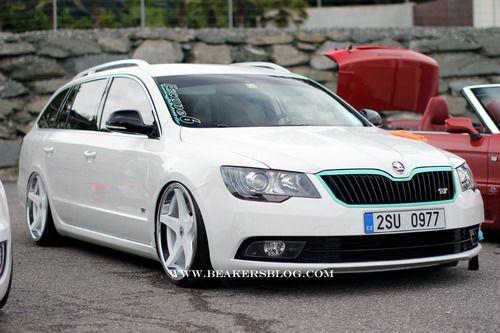 I wanna Skoda. More specifically, I want THIS Skoda