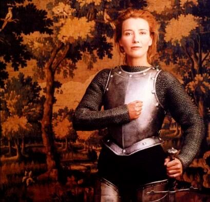 Emma Thompson as Joan of Arc - by Annie Leibovitz (1996)