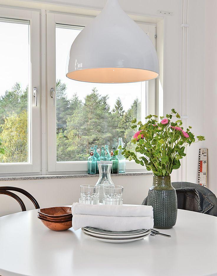 Styling av nyproducerad trea i Umeå! Krispigt, fräscht, blandning av gammalt & nytt!