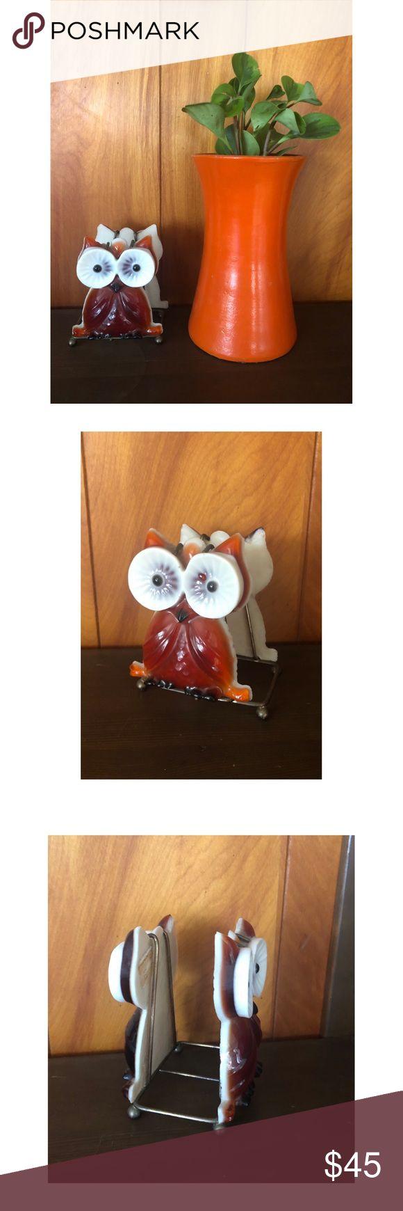 Mid century modern kitsch owl napkin holder The sw…