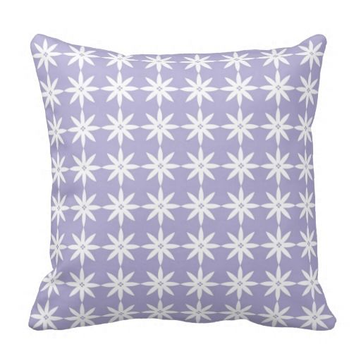 Flower pattern lavender throw pillow Rachin Photography & Design For The Home Pinterest ...