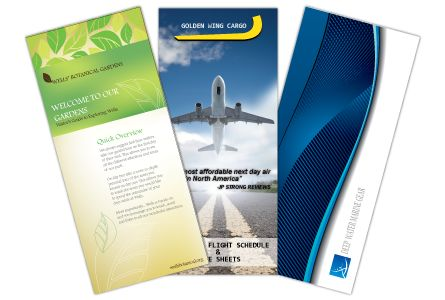 Brochures Printing - Full Color Cheap Brochure Printing with Free Folding + Free Design Proof! Cheap Shipping! And best prices on every brochures printing order.