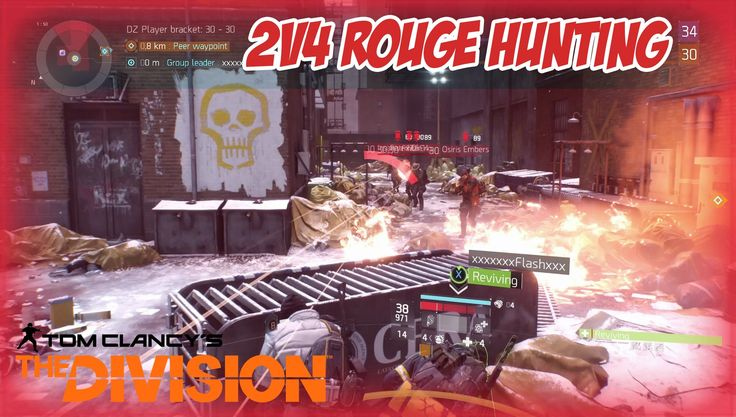 WHEN YOU F%#K WITH THE WRONG PEOPLE - 4 VS 2 - The Division Dark Zone