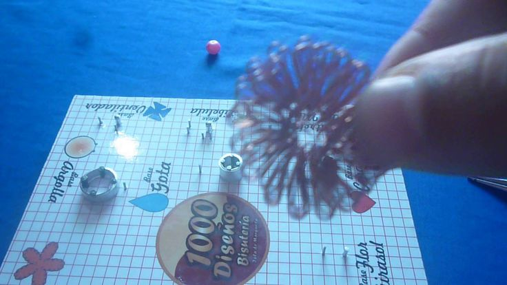 anillo flor girasol realizado por creaciones 1000 diseños bisuteria...