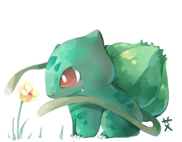 bulbasaur with vines