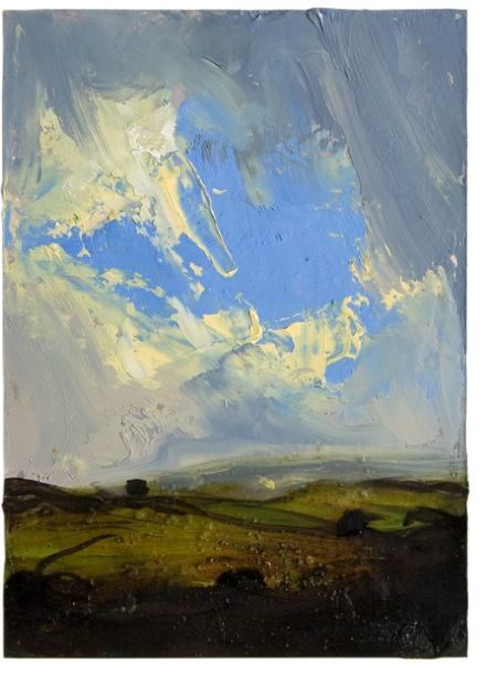 WORKS - PETER FRIE.  Love this big sky painting. mr