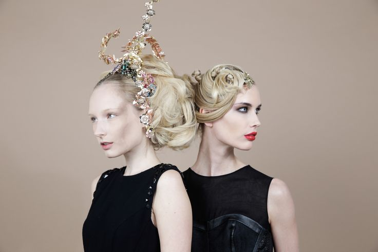 Live Show Aldo Coppola a/w 2015. Hair & Hairstyle Trends. #hair #hairstyle #hairbeauty