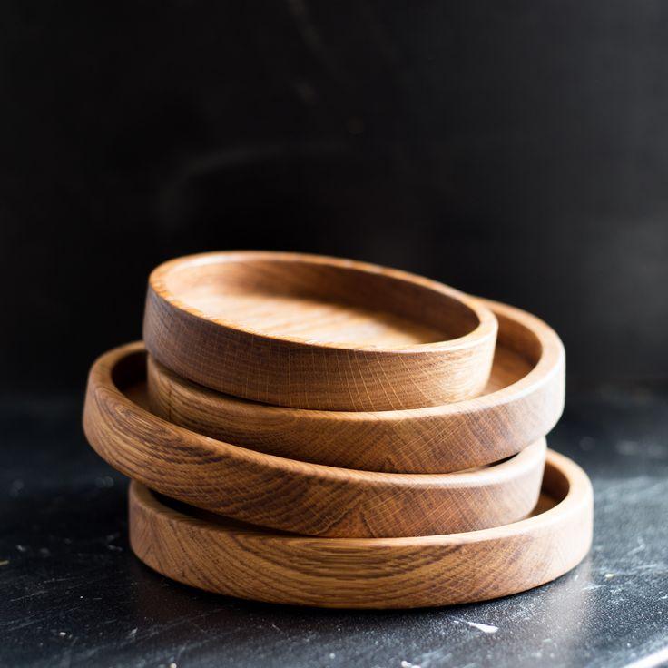 Дуб.Деревянная тарелка.Деревянная посуда.Wooden plate. BLACKMOSS. Made in…