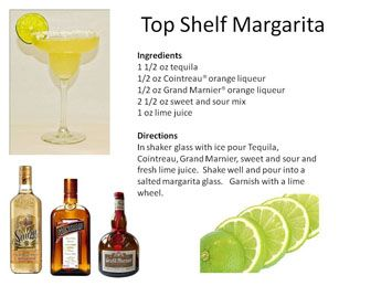 Top Shelf Margarita | Midnight Mixologist
