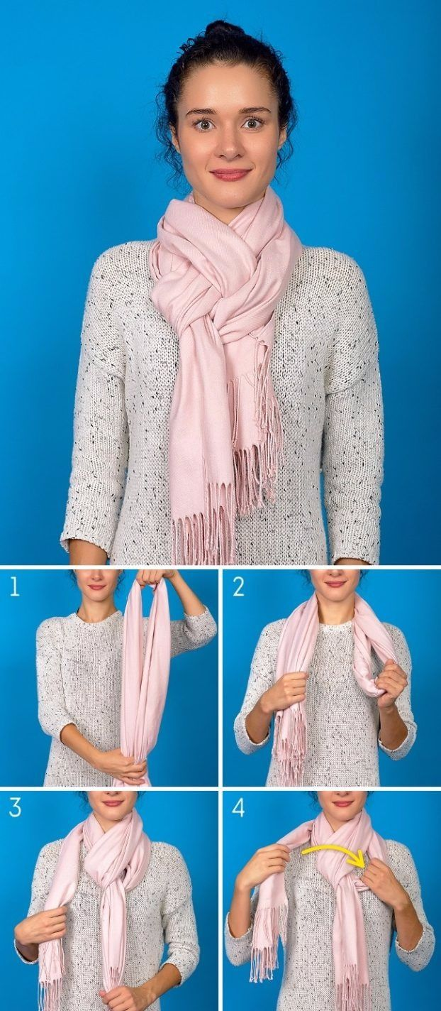 8 innovative ways to wear the scarf for the cold winter