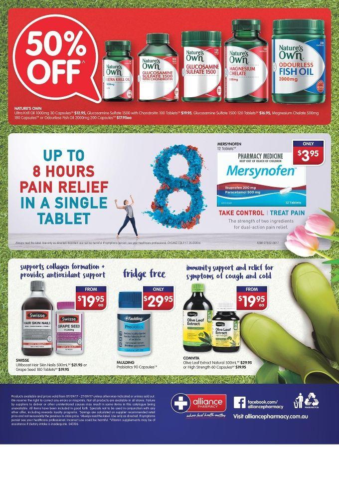 Alliance Pharmacy Catalogue 7 - 27 September 2017 - http://olcatalogue.com/alliance/alliance-pharmacy-catalogue.html