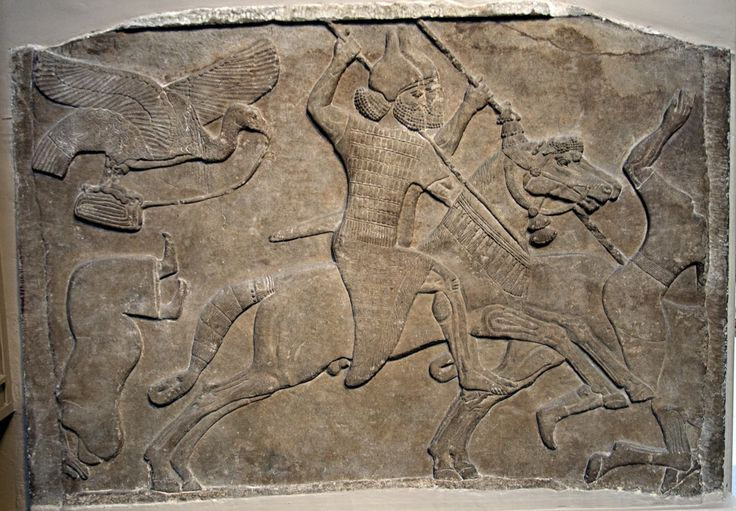 Assyrian War Reliefs | britishmuseumassyrianrelieftwohorsemennimrud.jpg