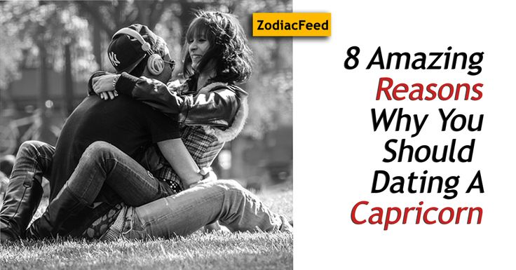 Capricorns for a lot of reasons can be the best people to be around. Know amazing things about dating a Capricorn. Read more - ZodiacFeed