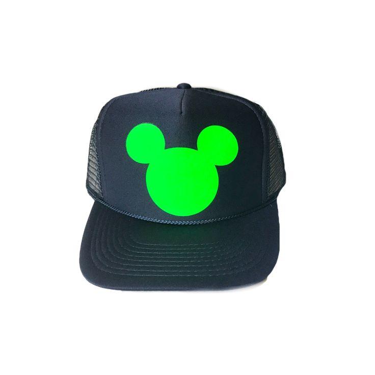 Mickey Trucker Hat- Seahawks Colors