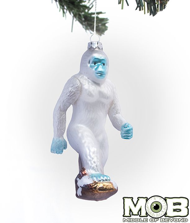 12 best images about mob ornaments on pinterest trees for Abominable snowman christmas light decoration