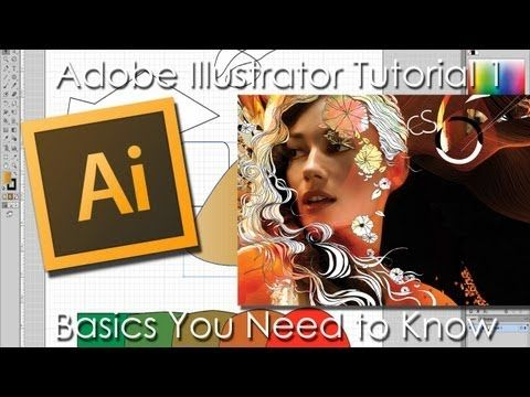 Adobe Illustrator Tutorial 1: Basics You Need to Know - YouTube