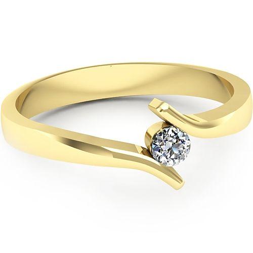 Inel logodna L43GDI Inel cu diamant