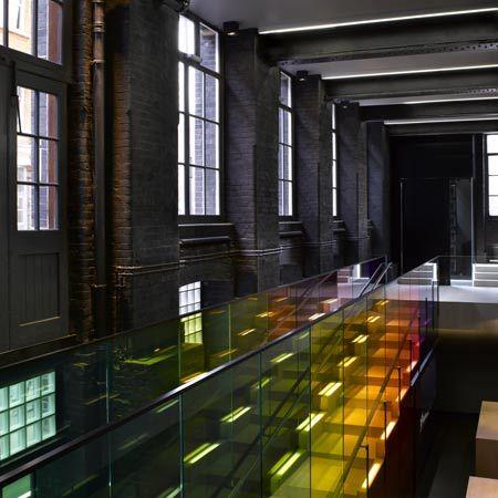 Kvadrat showroom by Peter Saville and David Adjaye